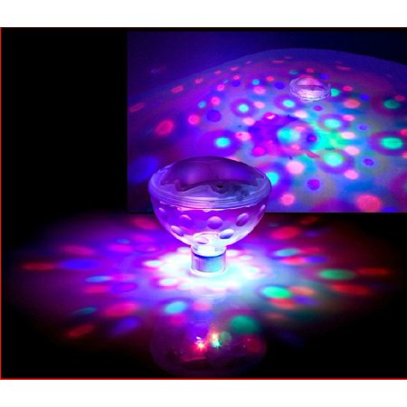 VicTsing Underwater LED Disco AquaGlow Light Show Pond Pool Spa Hot Tub 2013 w/ (Pentair Spa Brite Light)
