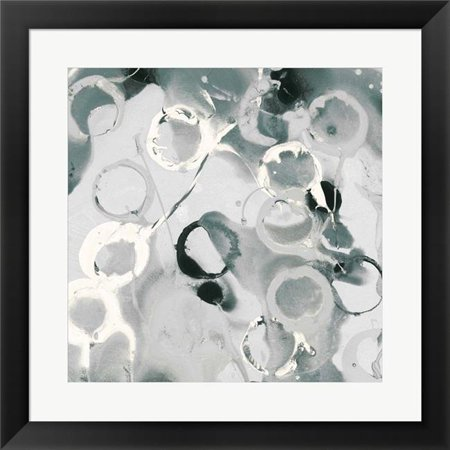 Metaverse R949289-0140000-AMAEAGOEDM 19.5 x 19.5 in. Teal Spatter II Framed Wall Art by Posters International Studio - image 1 de 1