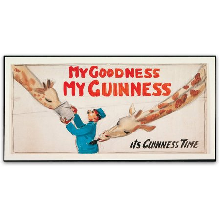 u0022My Goodness My Guinness IIIu0022 Canvas Art by Guinness Brewery