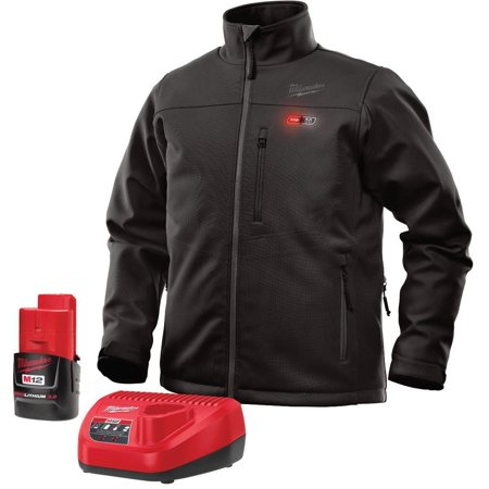 Milwaukee M12 Heated Jacket Kit - Battery and Charger Included (Large,