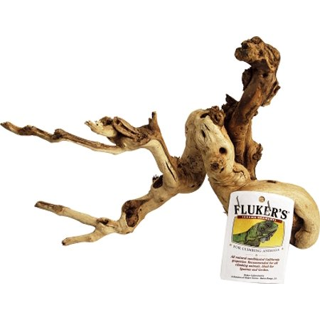 Fluker's Farms 52004 Heat Treated Sandblasted Grapevine Iguana Branch Medium 18 to 24 Inch