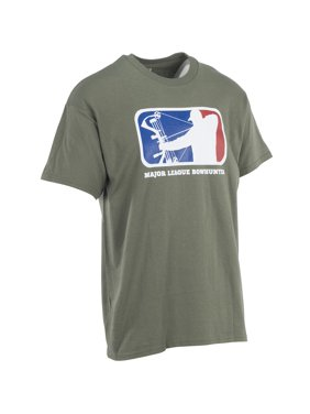 996cb3a50 Product Image Major League Bowhunter Mens Release Tee, Military Green, Pack  of 1
