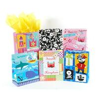 "Medium ""Pirates and Princesses"" Gift Bags by FLOMO"