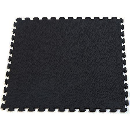 Norsk NSMPRT6BLK Rhino-Tec Sport Floor PVC Tiles 5- Pack plus BONUS PackValue Bundle, -