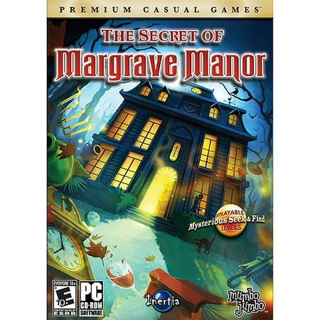 Secret of Margrave Manor (PC Game) - Replay levels as objects change places - Search 60+ spooky - New Halloween Hidden Object Games