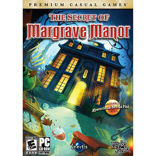 Secret of Margrave Manor (PC Game) Win XP/Vista
