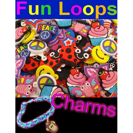 Colorful Charms For Loom Bandz Rubber Bands Bracelets (Set Of 12)](Loom Bracelet)