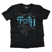 Jesus Christ Faith Christian Shirt God Savior Hope Love Gift V-Neck T-Shirt