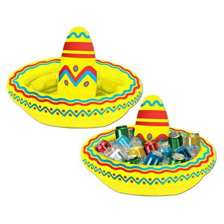 Inflatable Sombrero Cooler - Custom Sombrero