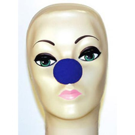 Magic By Gosh Blue Foam Clown Noses (1 5/8