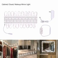 1PCS LED Vanity Mirror Lights Kit Make-up Mirror Light Strip for Vanity Dressing Table, Dimmer , Daylight, DIY Mirror Light 10f(Mirror Not Included)