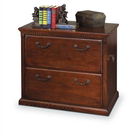 Martin Furniture Huntington Oxford Lateral File Cabinet - Burnished Oak Oxford File Cabinets