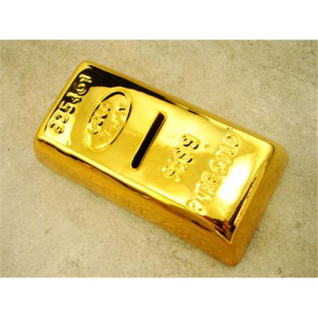 6 1 2  Gold Bar Piggy Bank  Prospecting  Money  Savings  Kids