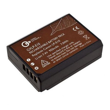 Green Extreme Lp E10 Lithium Ion Battery Pack 1020mah 7 4v