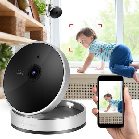 Herwey 1080P Smart WiFi Camera Network Surveillance Cube Camera Security Monitor, 1080P Cube Camera, Surveillance Cube Camera - image 5 of 8