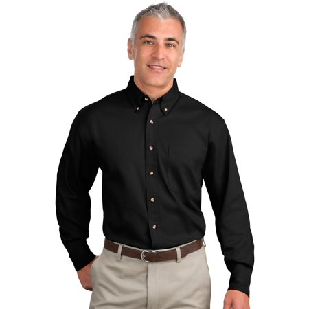 Port Authority Mens Long Sleeve Versatile Dress Shirt