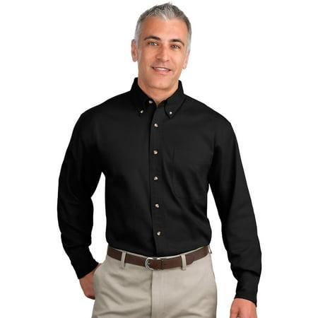 Stone Dress Clip - Port Authority Men's Long Sleeve Versatile Dress Shirt