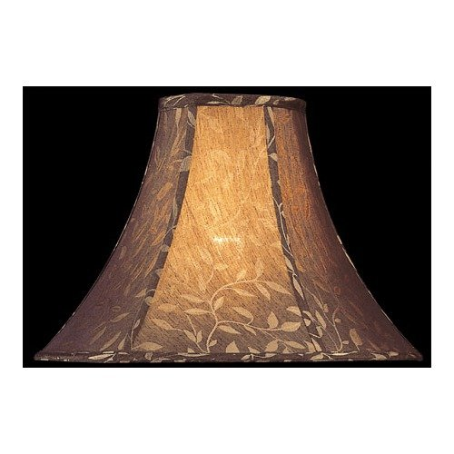 Lite Source Lamp Shade in Black Jacquard