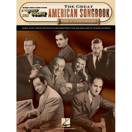 EZ Play Today: The Great American Songbook - The Composers (Paperback) ()