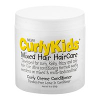 (2 Pack) Curly Kids Creme Conditioner, 6 Oz