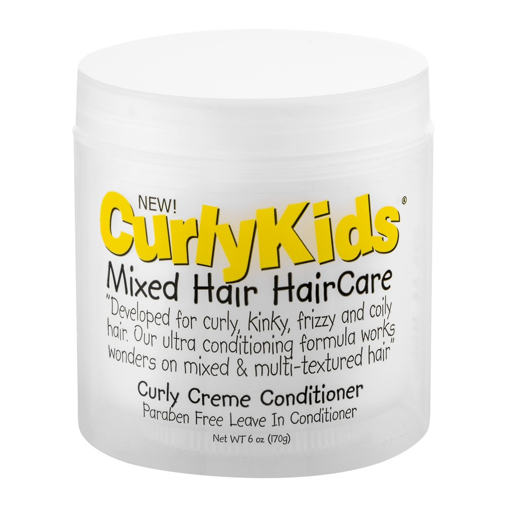 Curly Kids Creme Conditioner, 6 Oz