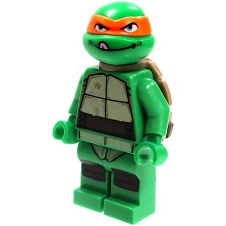 LEGO Teenage Mutant Ninja Turtles Loose Michelangelo Minifigure [Tongue