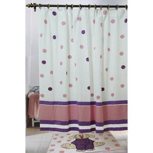 Jovi Home Cotton Elsie Shower Curtain