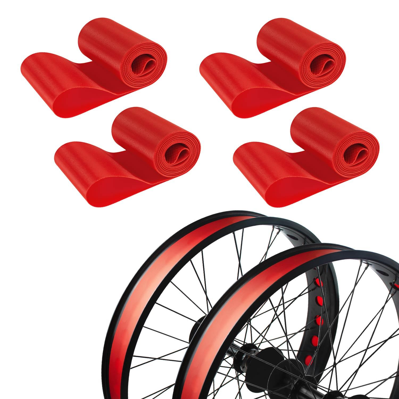 """2x MEIJUN High Pressure Bicycle Inner Tube Pad Rim Liner 20 24 26/"""" 700C Mat Tape"""
