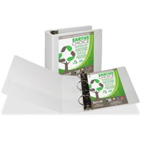 Samsill, SAM16997, Earth's Choice Round Ring Eco-friendly View Binder, 1 Each, White