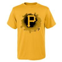 MLB Pittsburgh PIRATES TEE Short Sleeve Boys OPP 100% Cotton Alternate Team Colors 4-18