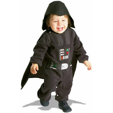 Star Wars Darth Vader Fleece Toddler Halloween Costume, Size - Star Wars Darth Vader Child Costume