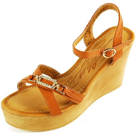c485aa74a911 Cathy Din USA - Womens Wedge Heels 4