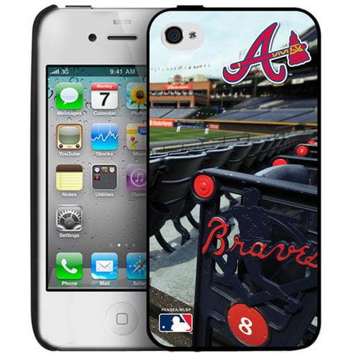 Iphone 4/4S Hard Cover Case - Atlanta Braves Atlanta Braves PANGBBATLIP4BP