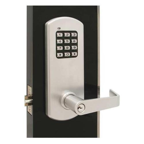 TOWNSTEEL XCE-2010-Q-626 Classroom Lock, Stin Chrome, Quest Lever