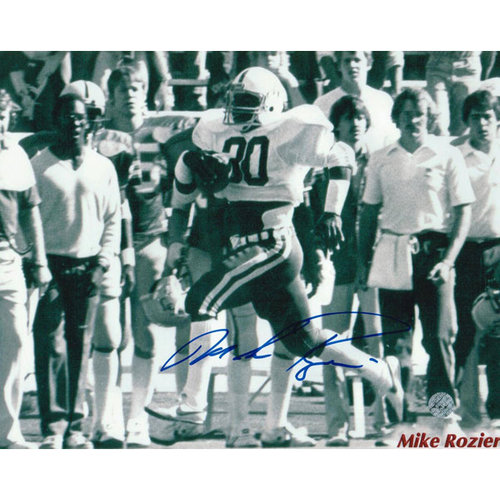 NCAA - Mike Rozier Nebraska Cornhuskers Autographed 8x10 Photograph - Running up the Sideline-