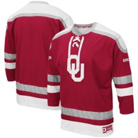Oklahoma Sooners Colosseum Mr. Plow Hockey Jersey - Crimson