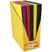 """Two Pocket Discount Folders - 9"""""""" x 12"""""""" Case Pack 100"""