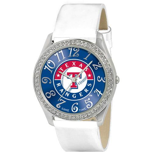 "Game Time Women's MLB-GLI-TEX ""Glitz"" Watch - Texas Rangers"