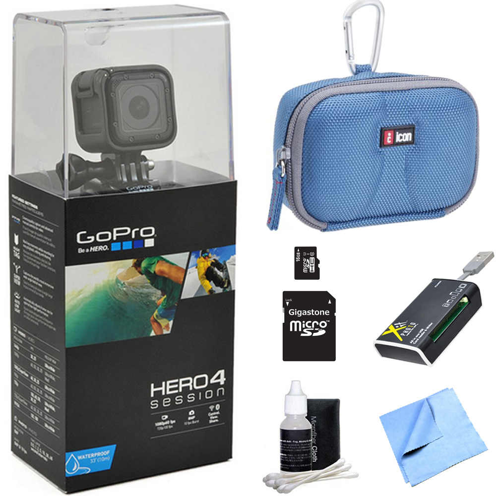 GoPro HERO4 Session Action Camera All Inclusive Bundle In...
