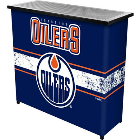 NHL Portable Bar with Carrying Case, Edmonton Oilers by