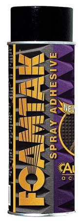 Spray Adhesive,3 in. W,Aerosol Adhesive AURALEX FTSPRAY by Auralex