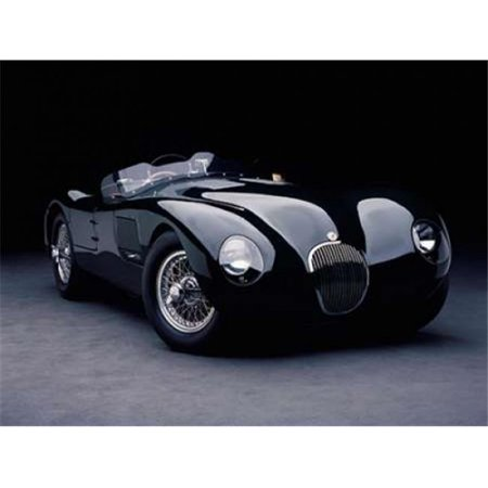 Selected Artworks PDX3DH1728LARGE 1951 Jaguar C-Type Poster Print by Don Heiny, 22 x 28 - Large - image 1 of 1