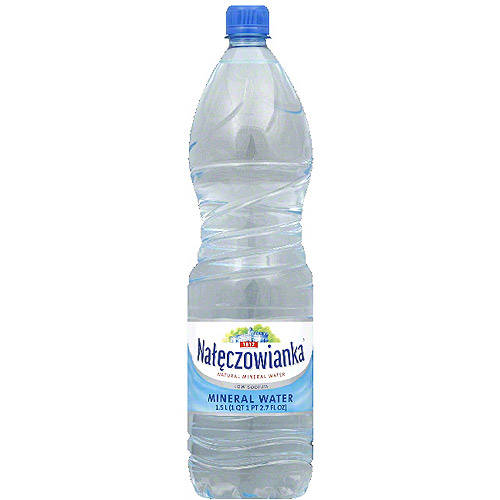 Naleczowianka Natural Mineral Water, 50.72 fl oz, (Pack of 6) by