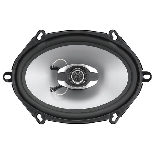 Soundstorm GS257 5 inch x 7 inch 2-Way Speaker - 225 Watts Poly Injection Cone also fits 6 inch x 8 inch Application