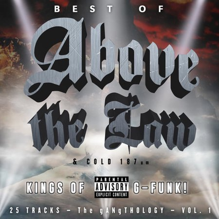 Best Of Above The Law & Cold 187-gangthology Vol.1 (CD)