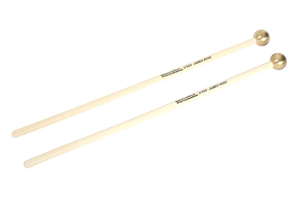 Innovative Percussion James Ross Brass Glockenspiel Mallets Large by Innovative Percussion