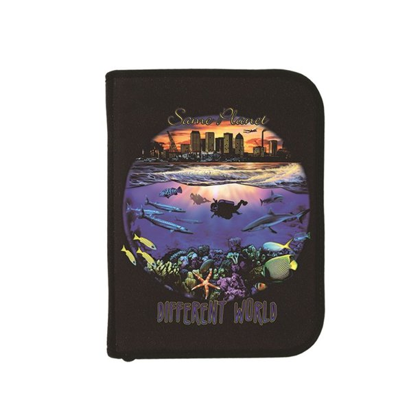Log Book Binder Scuba Diving Dive Diff World