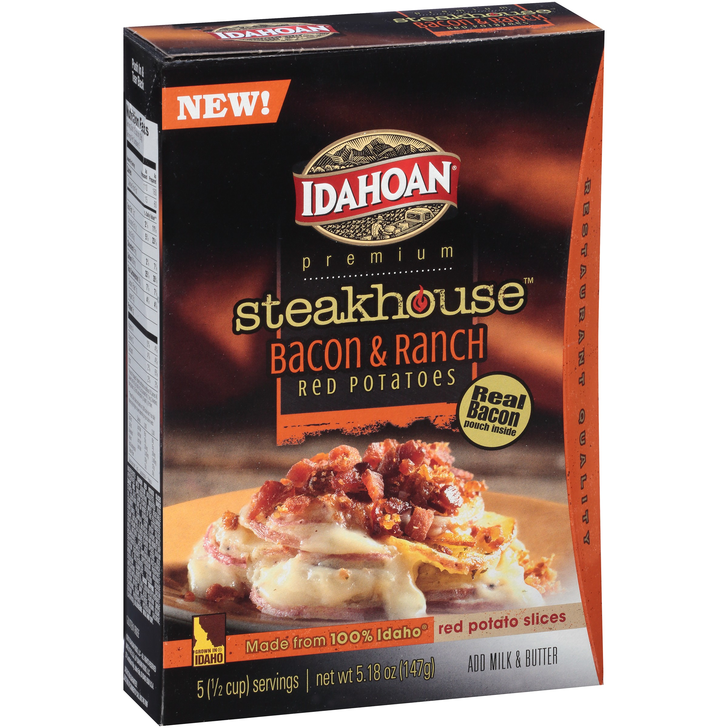 Idahoan Premium Steakhouse Bacon & Ranch Red Potatoes, 5.18 oz by Idahoan Foods, LLC