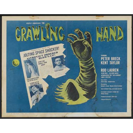 The Crawling Hand POSTER Movie Mini - Crawling Hands