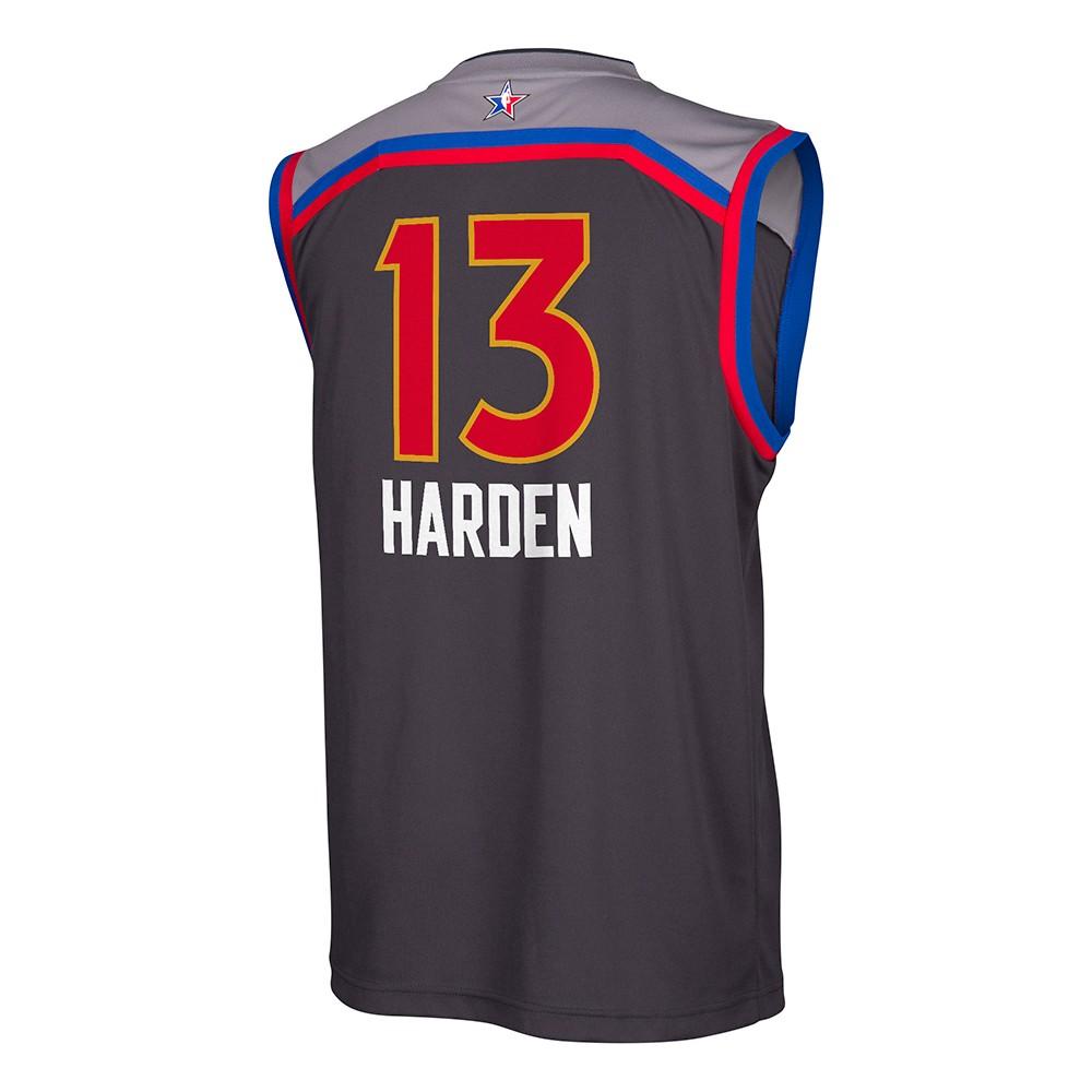 James Harden Houston Rockets NBA Black 2017 All Star West Replica Jersey